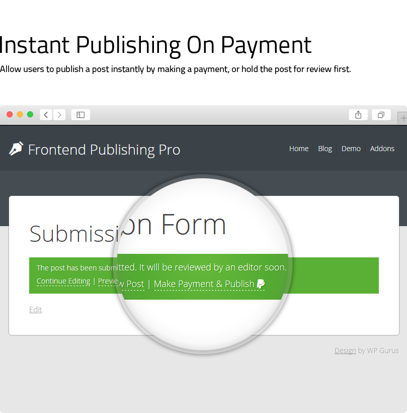 Frontend Publishing Pro - WordPress User Submission Plugin - 19