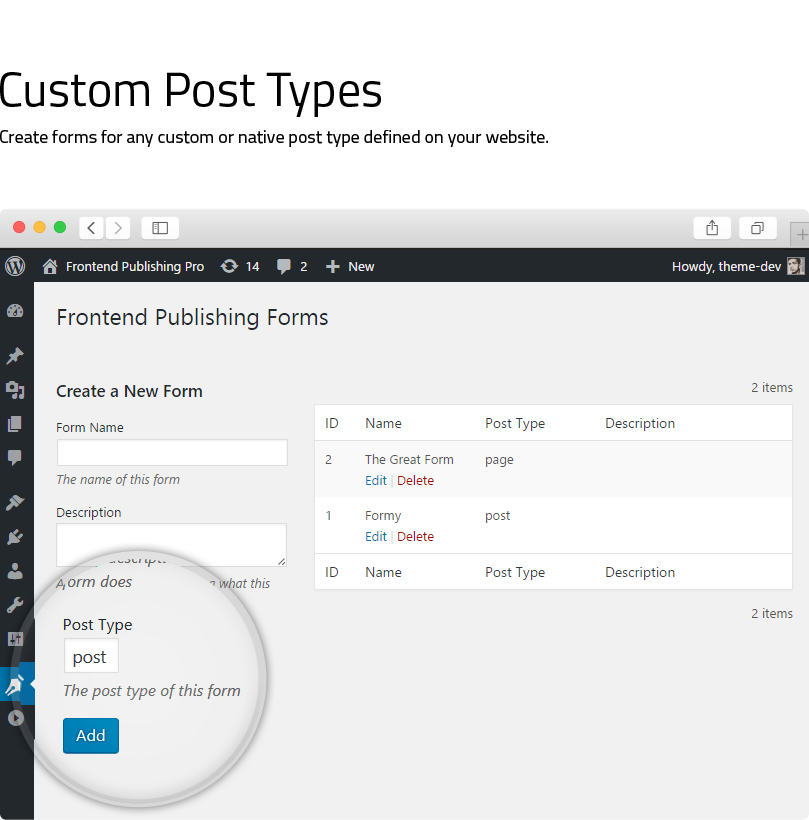 Frontend Publishing Pro - WordPress User Submission Plugin - 8