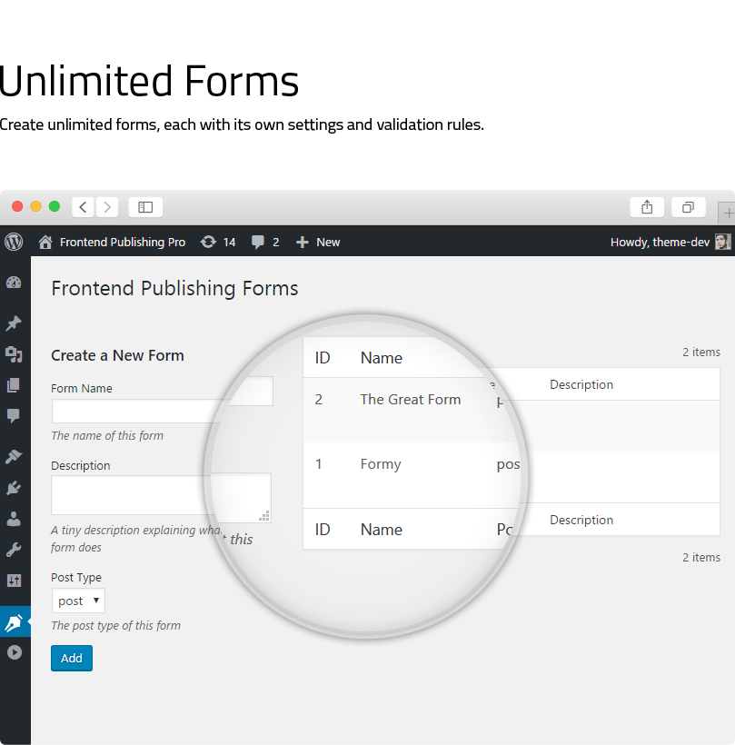 Frontend Publishing Pro - WordPress User Submission Plugin - 6